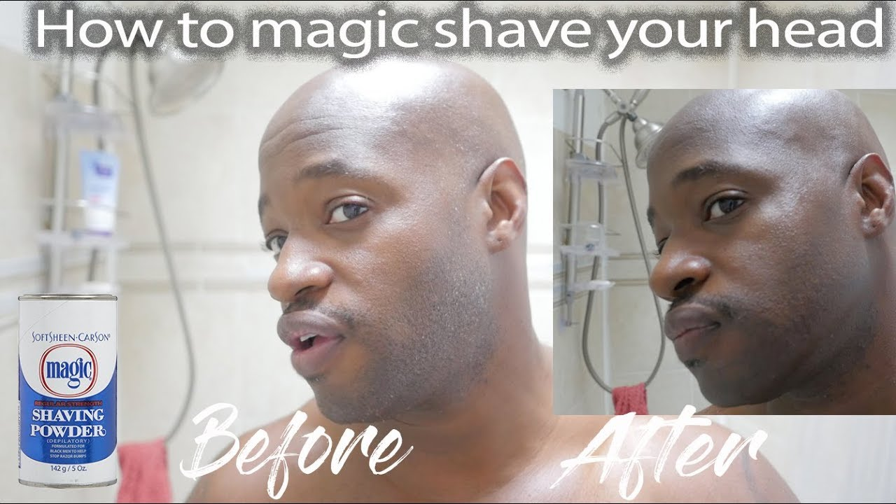 How To Magic Shave Your Head Youtube