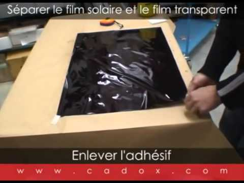 comment poser un film solaire sur les vitres d 39 une voiture youtube. Black Bedroom Furniture Sets. Home Design Ideas
