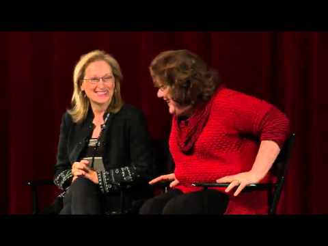 Meryl Streep & Margo Martindale  August: Osage County Q&A Part 2 of 3