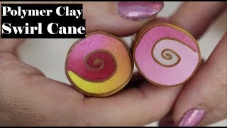 Creating A Swirl Cane  with Polymer Clay