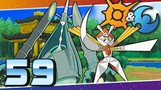 Pokémon Sun and Moon - Episode 59   UB-04 Kartana and Celesteela!
