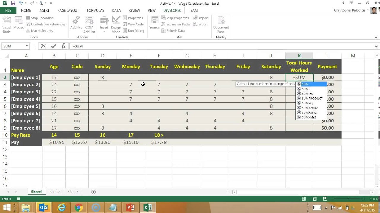 Creating A Macro Enabled Template In Excel