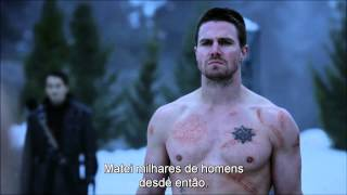 Ra's Al Ghul x Arrow(Death of Oliver Queen) - Best fight Scene. thumbnail