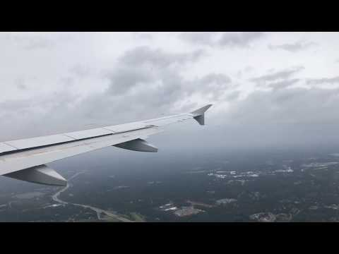 American Airlines (AAL821) Taking off from Charlotte,NC to Grand Cayman