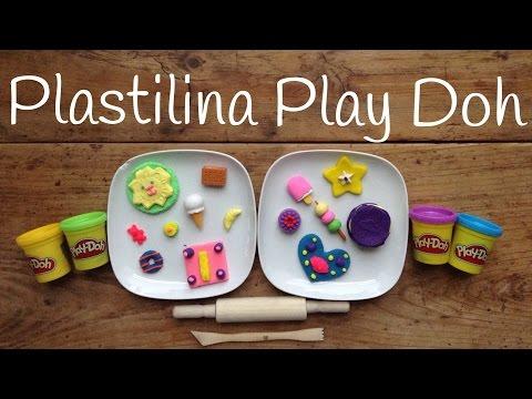 Descubre un montón de Play doh galletas diferentes, manualidades de plastilina para niños
