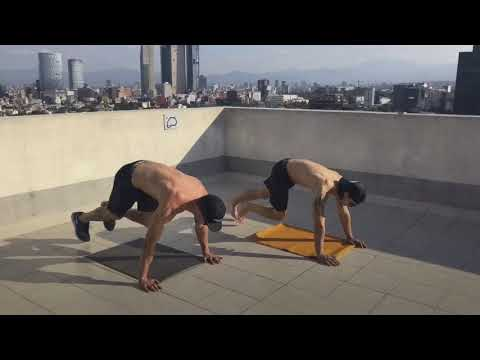 Moderate workout for ABS in Mexico City