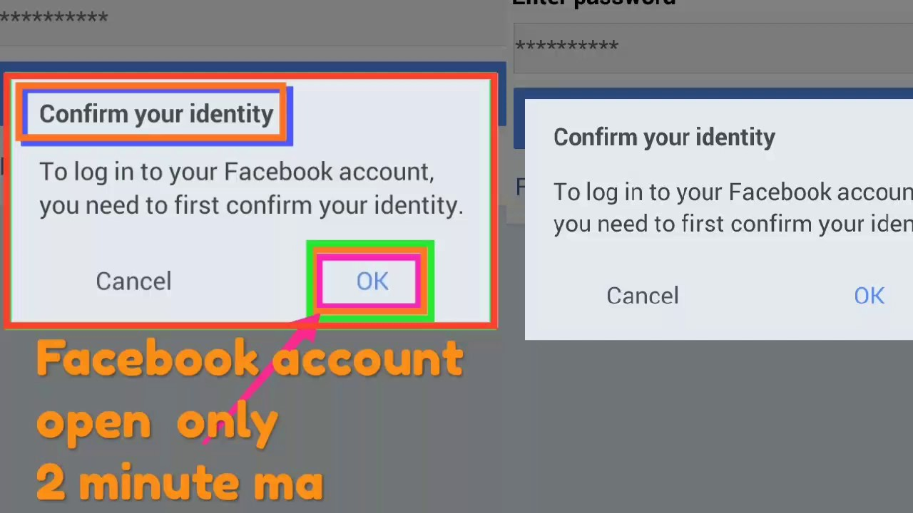 how to fix session expired on facebook | how to confirm your identity |  2018 / 2019