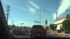 Driving in Compton California 1080P Rosecrans Blvd Part 2