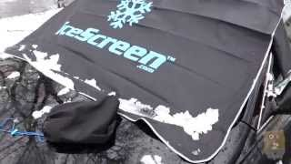 iceScreen Deluxe Magnetic Ice Snow Sun Windshield Cover Review