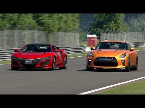 日本車で一番速い車は日産GT-RかホンダNSXか GTsport