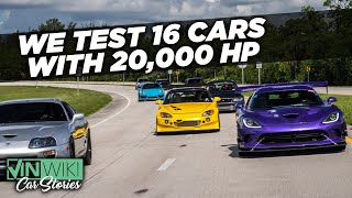 Here's what no one tells you about driving 1,000+ HP cars