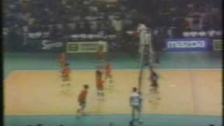PERU VS CHINA - FINAL MUNDIAL DE VOLEY 1982