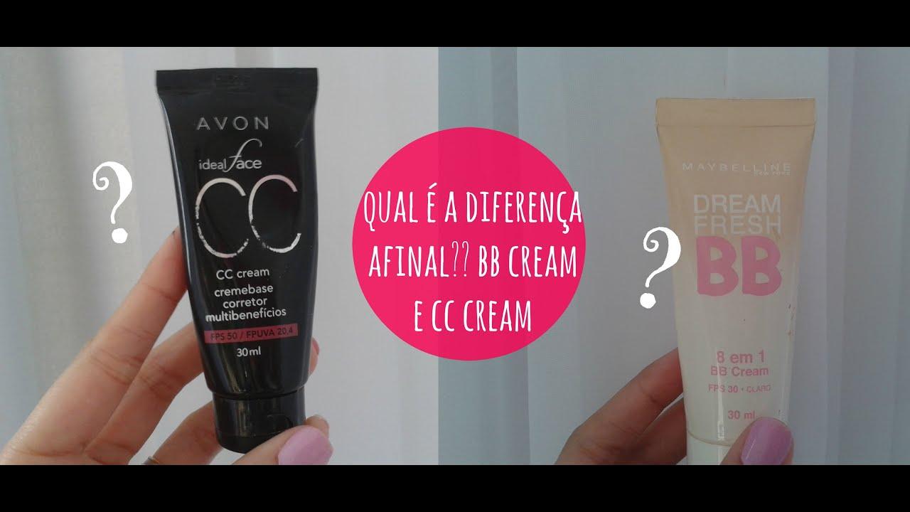 BB cream, CC cream (benefícios, diferenças, qual escolher?) #1 - YouTube