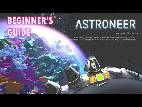 ASTRONEER | BEGINNER'S GUIDE (XBOX ONE)