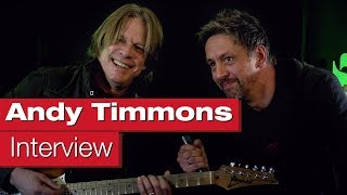 Interview with Andy Timmons on guitar playing and equipment by session