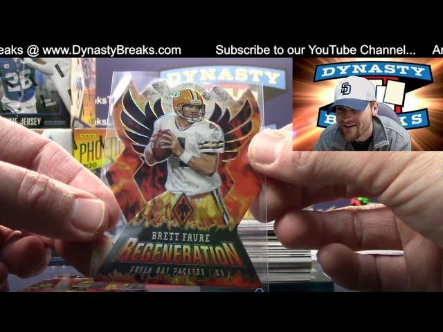 2020 Phoenix Football Card 8 Box Case Break #5   Sports Cards