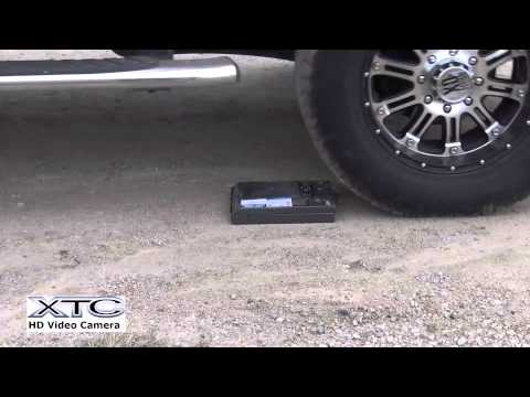 Liberty Safe HDX 150 vs Truck