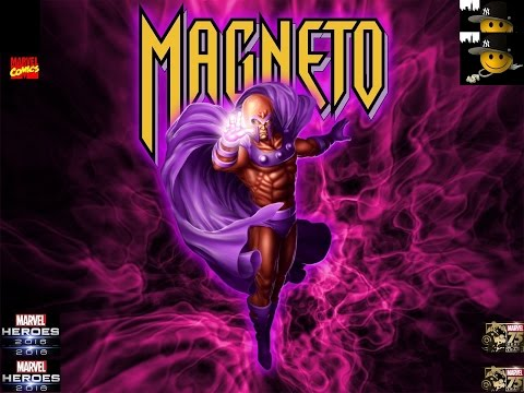 Marvel Heroes 2016 (PC)  (MAGNETO) The Master of Magnetism {