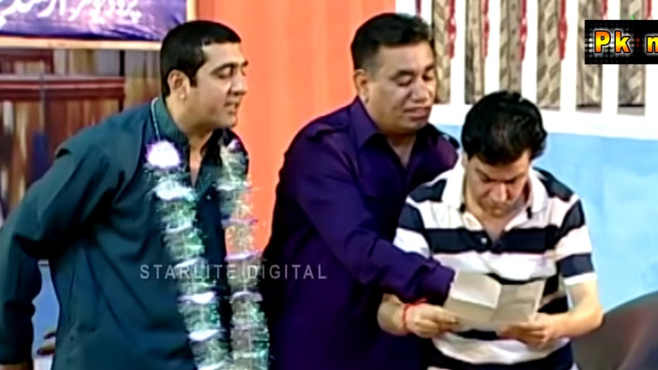 New Best of Zafri and Nasir Chinyoti Stage Drama Full Comedy Clip | Pk Mast