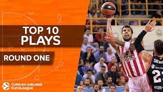 Top 10 Plays - Turkish Airlines EuroLeague Regular Season Round, 1