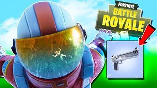 HAND CANNONS ARE OP - FORTNITE SEASON THREE DEAGLE & NEW SKINS