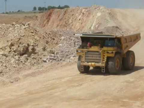 Cat 785C Big Truck Tuprag Kısladag Gold Mine In Turkey -Eldorado Gold