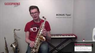 Careless Whisper Sax Notes and Saxophone lessons from the Sax School