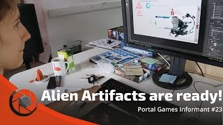 Portal Games Informant #23 -  Alien Artifacts Are Ready