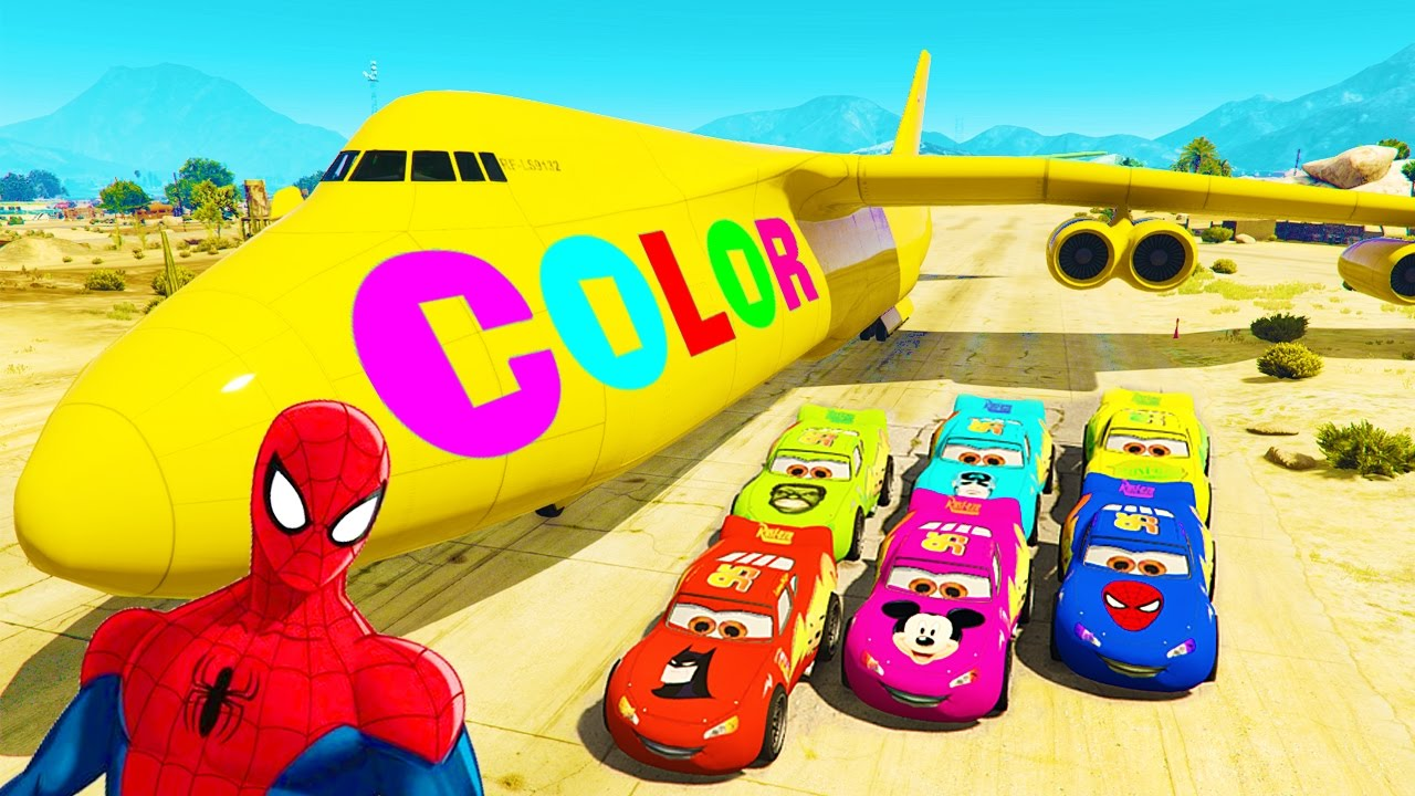 Awesome Disney Pixar Cars Color Changers Component - Coloring Page ...