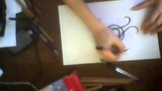 Как нарисовать Biohazard Logo(How to draw Biohazard Logo)