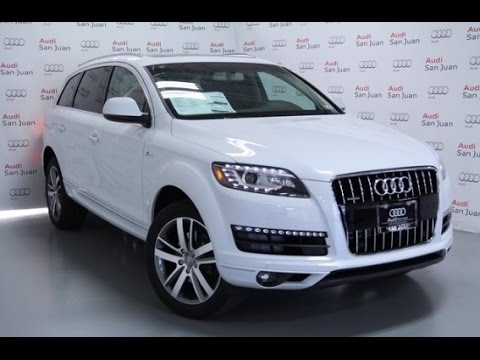 2015 Audi Q7 Premium Plus Glacier White Youtube