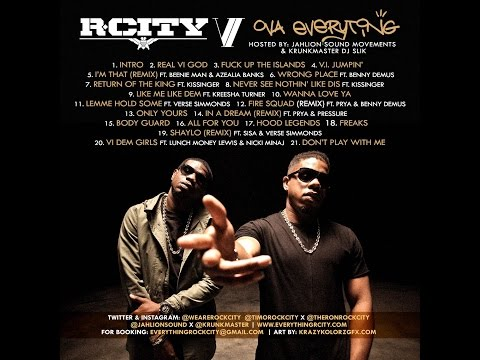 R. City VI Ova Everything hosted by JahLion Sound & Krunkmaster Rock City
