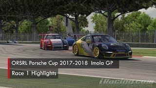 ORSRL Porsche Cup 2017-2018: Imola GP - Race 1 Highlights