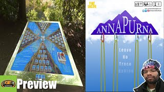 Annapurna Leave No Trace Behind Board Game Kickstarter Preview | Climb and Keep it Clean