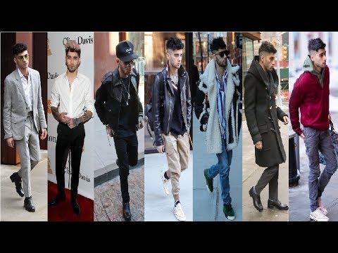 Zayn Malik Fashion Style \u0026 Street Style 2018