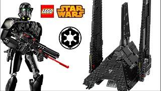 Изгой-один LEGO Star Wars. Имперский шаттл Кренника 75156 и новинки конструктора Лего Звездные войны
