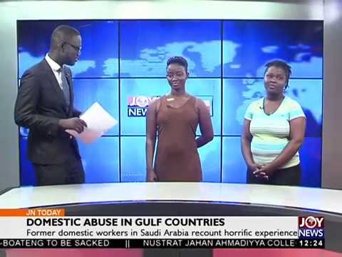 Domestic Abuse in Gulf Countries - Joy News Today (6-11-17)