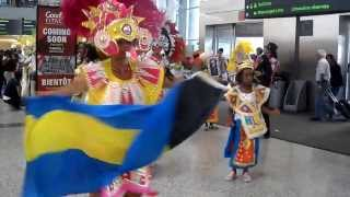 Bahamian Junkanoo Legends - Toronto Pearson International Airport July 30, 2013 Part 2