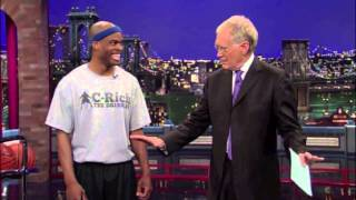 Corey The Dribbler on The Late Show with David Letterman