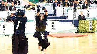 The 61th All Japan KENDO Championship (2nd Round) NAKAMURA Naoki (I...