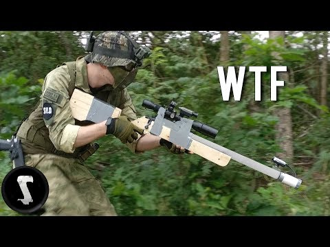Thumbnail: Guy Brings Home-made Airsoft Gun and Destroys Everyone....