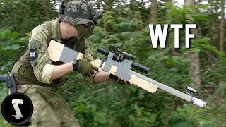 Guy Brings Home-made Airsoft Gun and Destroys Everyone.... thumbnail