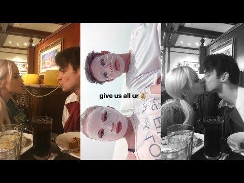 Dove Cameron  Snapchat Story  11 November  w Thomas Doherty