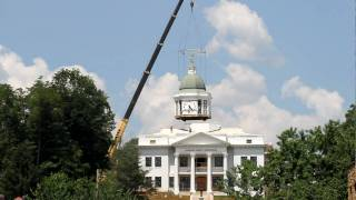 Sylva Courthouse Dome Removal