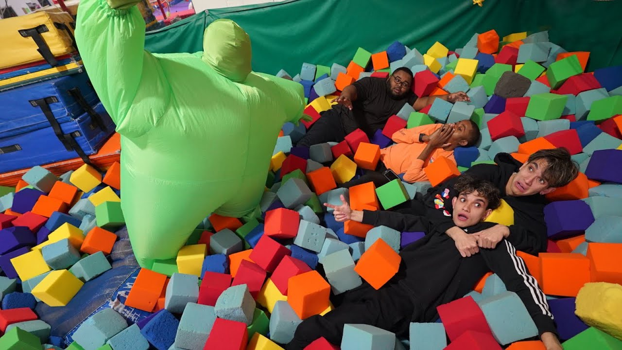 Last to Leave SCARY FOAM PIT GEWINNT $ 10.000! + video