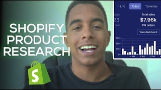 ULTIMATE 2018 SHOPIFY PRODUCT RESEARCH METHOD (SHOPIFY DROPSHIPPING WALKTHROUGH)