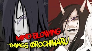 Mind Blowing Things About Orochimaru - Naruto & Boruto