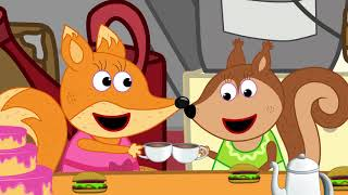 Fox Family and Friends new funny cartoon for Kids Full Episode #202