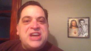 """""""The Italian American Slang Word of the Day!"""" with Stevie B - MAMMA MIA"""