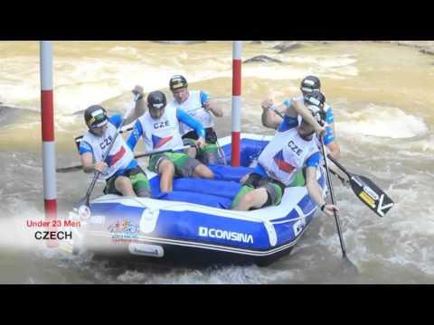 World Rafting Championship 2015 - CZECH REPUBLIC U23 MEN